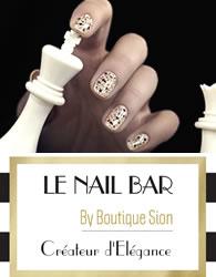 affiche pour le nail bar collection hiver 2016
