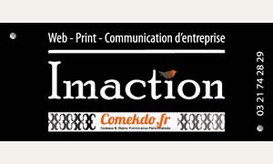 Imaction web, Print,Objets publicitaires