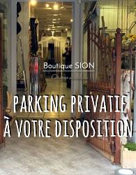 Parking privatif et service d'accompagnement au véhicule